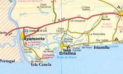 Mapa De Huelva Costa.Augc Se Persona Como Acusacion Popular Contra