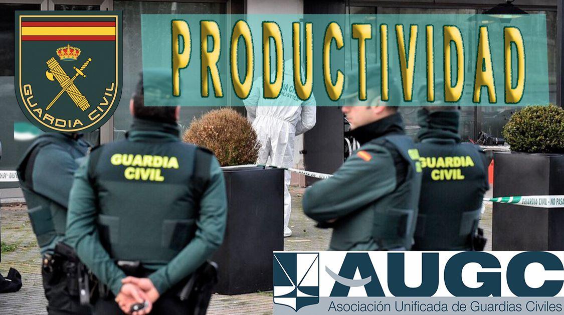 La productividad sigue siendo motivo de discriminación para los guardias civiles.