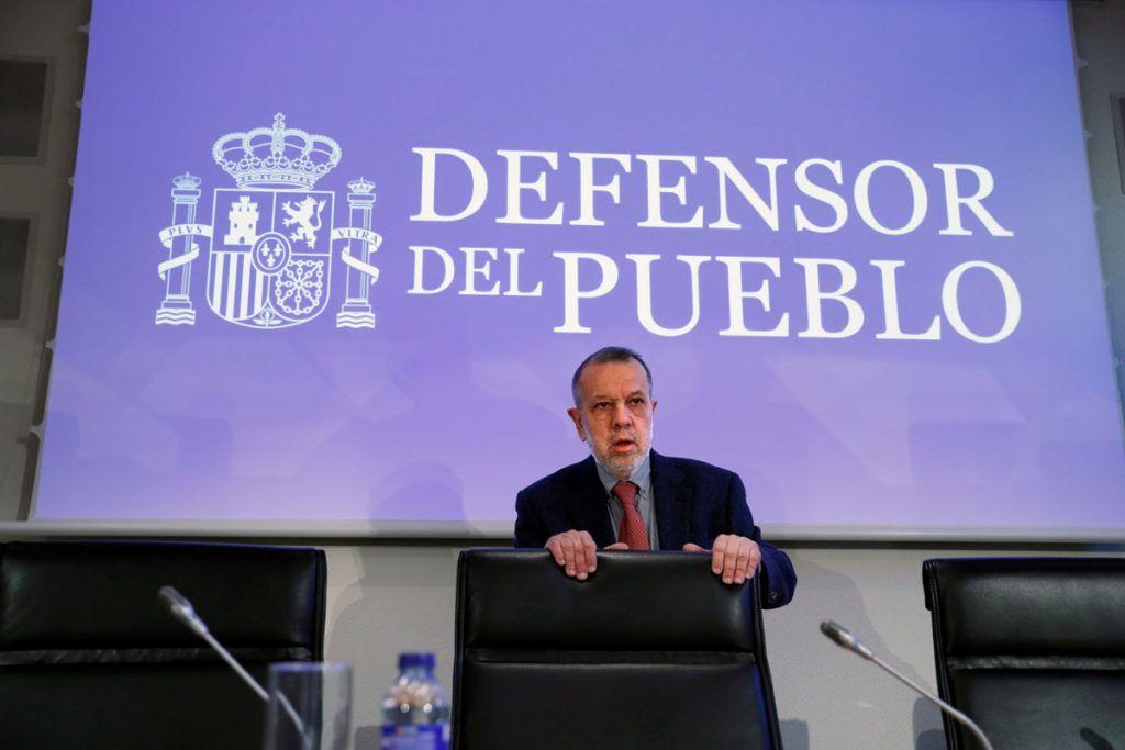 Francisco Fernández Marugán es el actual Defensor del Pueblo.