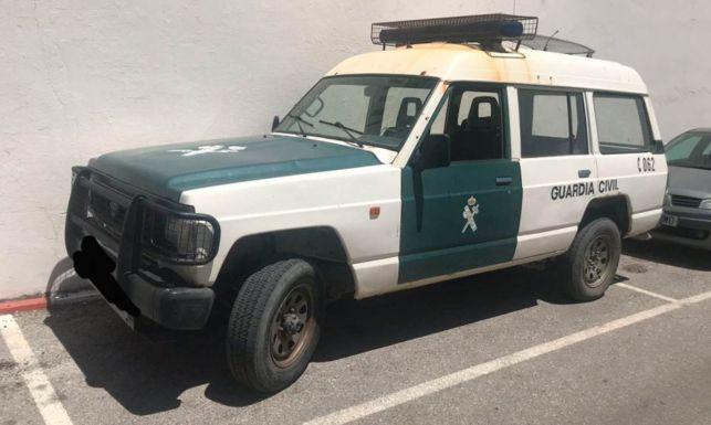 La Guardia Civil cuenta con muchos vehículos viejos aún en servicio.